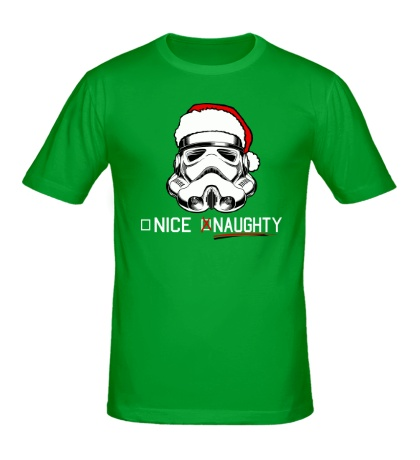 Мужская футболка Новогодний штурмовик