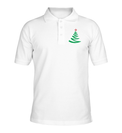 Рубашка поло Новогодняя ёлочка
