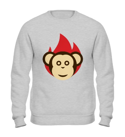 Свитшот Огненная обезьяна