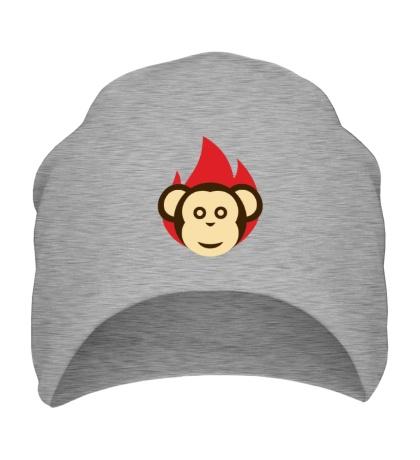 Шапка Огненная обезьяна