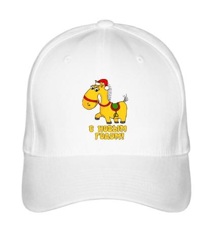 Бейсболка Жёлтая лошадка