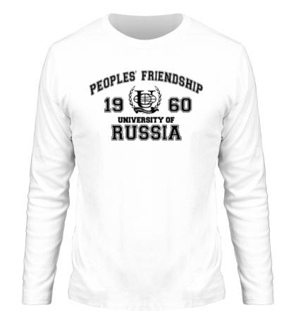 Мужской лонгслив РУДН Университет