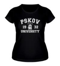 Женская футболка ПГУ Университет