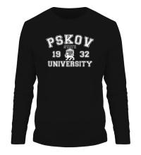 Мужской лонгслив ПГУ Университет