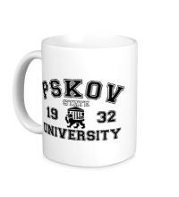 Керамическая кружка ПГУ Университет