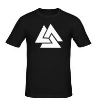 Мужская футболка Волки Одина