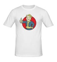 Мужская футболка Vault Boy Color