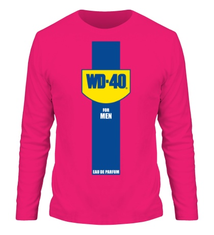 Мужской лонгслив WD-40 for Men