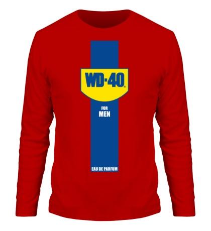 Мужской лонгслив WD-40 for Men