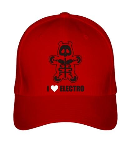 Бейсболка I love electro