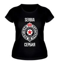 Женская футболка ФК Партизан