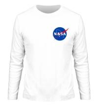Мужской лонгслив NASA Star
