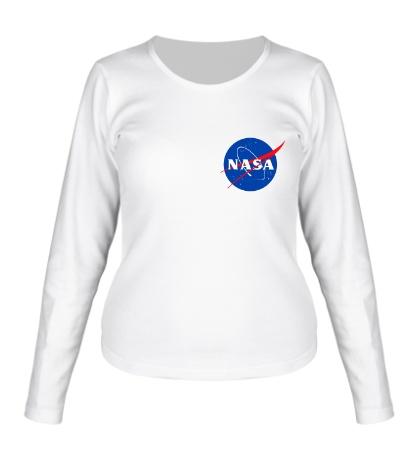 Женский лонгслив NASA Star