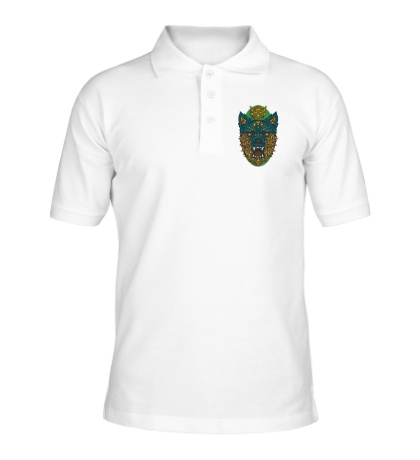 Рубашка поло Царский волк