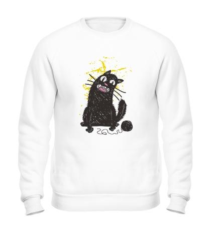 Свитшот Черный кот