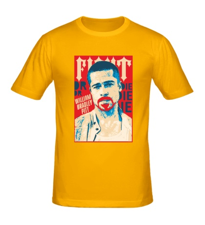 Мужская футболка Брэд Питт