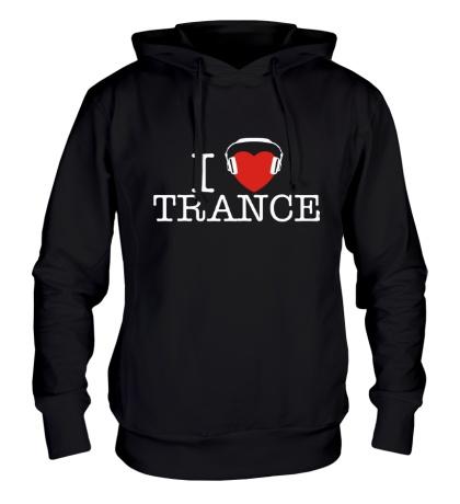 Толстовка с капюшоном I Listen Trance