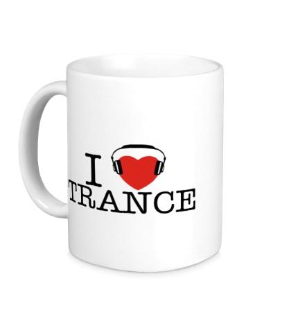 Керамическая кружка I Listen Trance