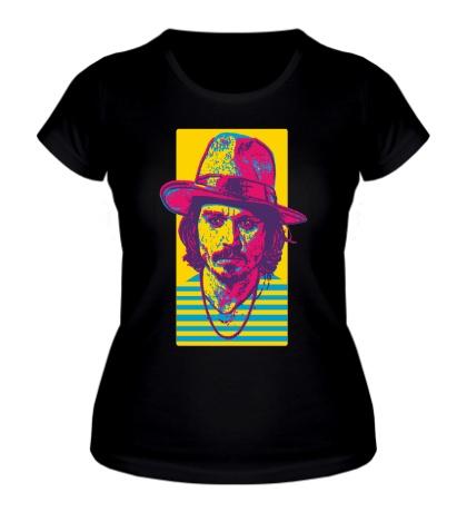 Женская футболка Джонни Депп