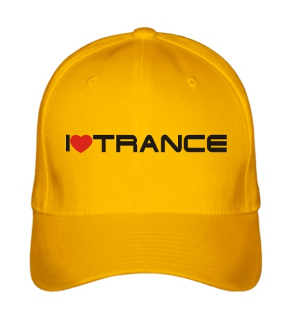 Бейсболка I love trance