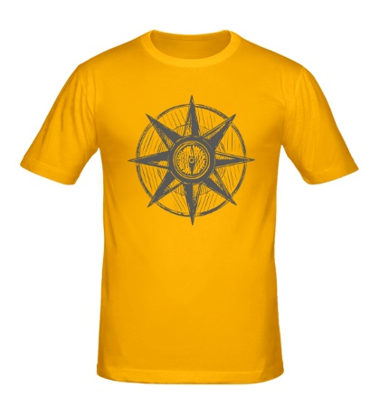 Мужская футболка Морской компас
