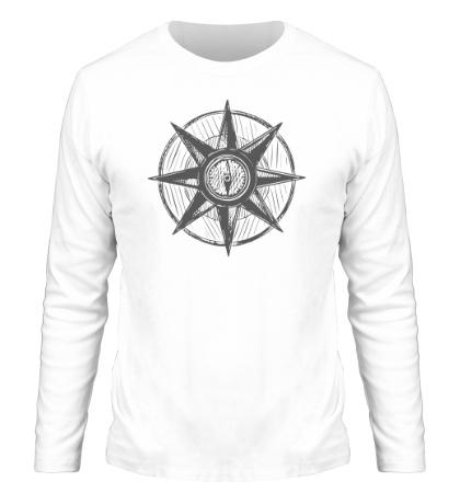 Мужской лонгслив Морской компас
