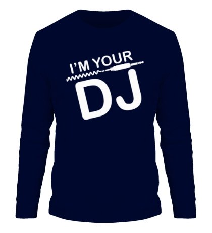 Мужской лонгслив Im your DJ