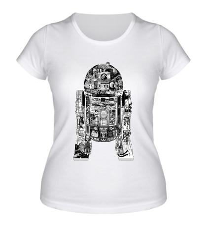 Женская футболка Epic R2