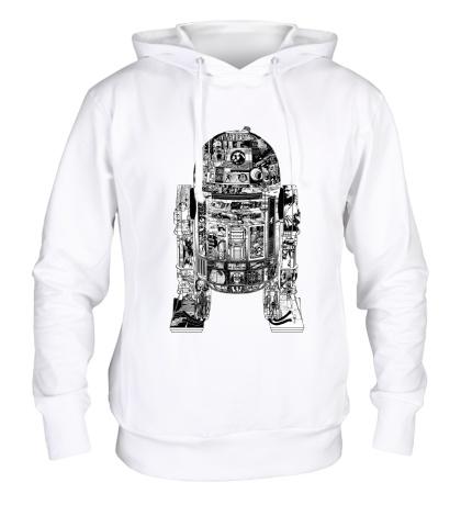 Толстовка с капюшоном Epic R2