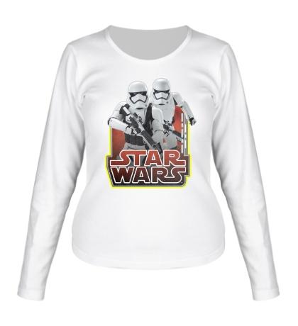 Женский лонгслив Star Wars: Stormtroopers