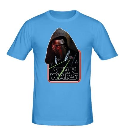 Мужская футболка «Kylo Ren Strikes»