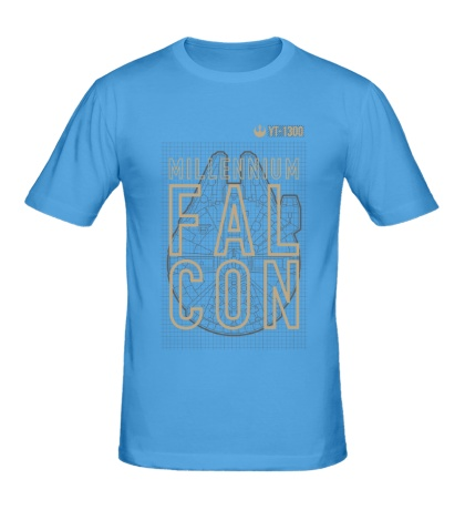Мужская футболка YT 1300 Millennium Falcon