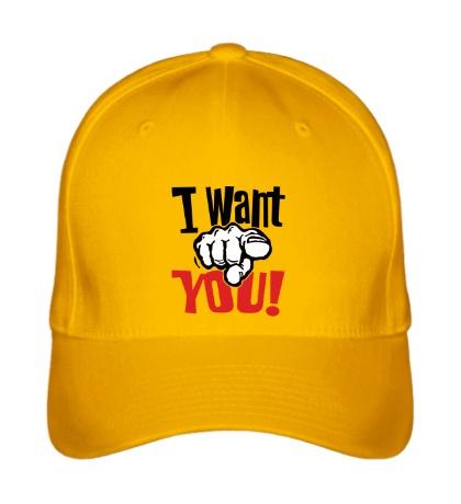 Бейсболка I want you!