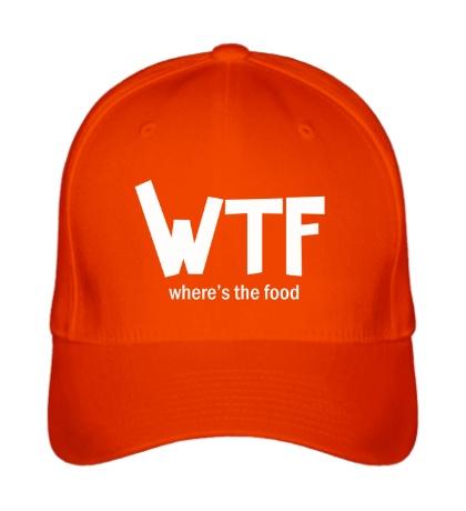 Бейсболка WTF, wheres the food