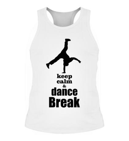 Мужская борцовка Keep Calm & Dance Break Boy