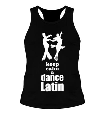 Мужская борцовка Keep calm & dance latin