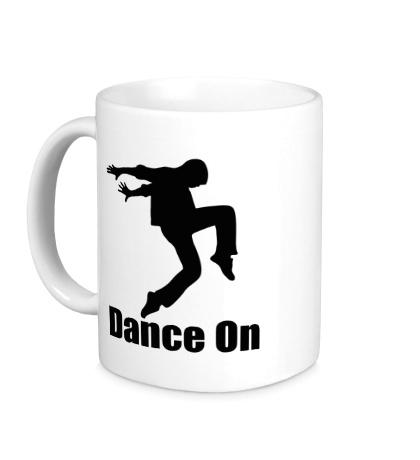 Керамическая кружка Dance On