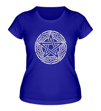 Женская футболка Кельтская пентаграмма