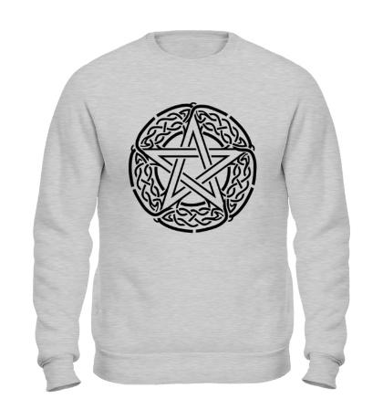 Свитшот Кельтская пентаграмма