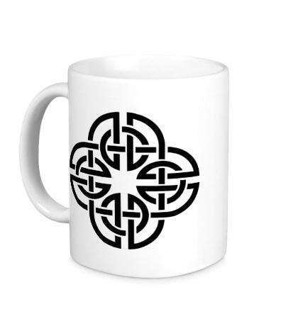 Керамическая кружка Кельтский орнамент