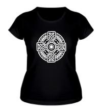 Женская футболка Кельтский крест