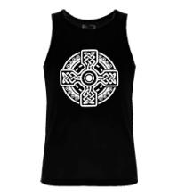 Мужская майка Кельтский крест
