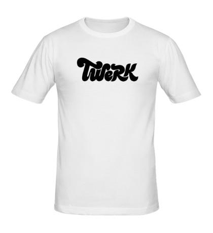Мужская футболка Twerk