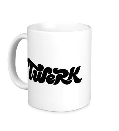 Керамическая кружка Twerk