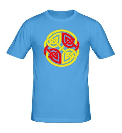 Мужская футболка Двойной кельтский узор