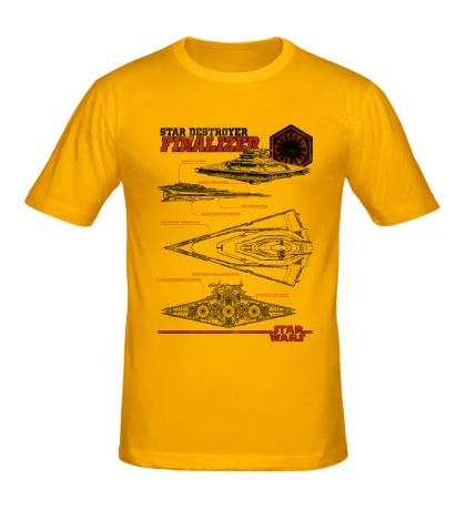 Мужская футболка Star Destroyer Finalizer