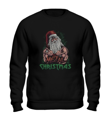 Свитшот Metal Christmas