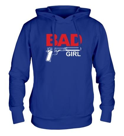 Толстовка с капюшоном Bad Girl, для нее