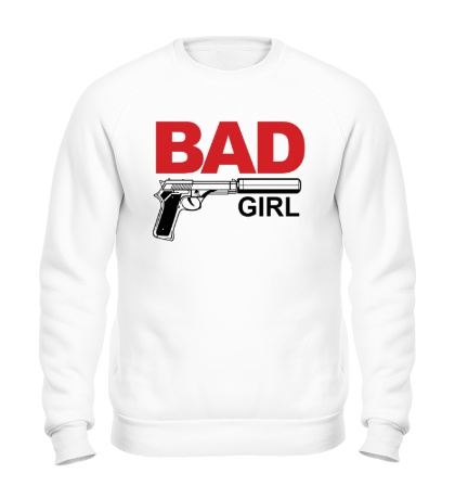 Свитшот Bad Girl, для нее
