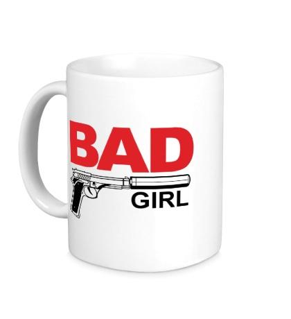 Керамическая кружка Bad Girl, для нее